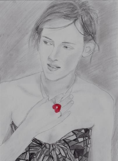 Kristen Stewart by James